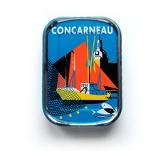 Concarneau sardine can   Finistère Bretagne