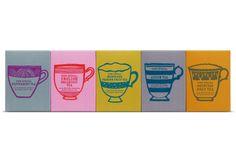 jamie oliver tea, illustrations by debbie powell