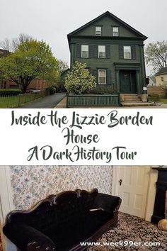 Inside the Lizzie Borden House - Touring a bit of Dark History. The house now is a working museum and Bed and Breakfast. Learn more about the infamous case and how it changed history.