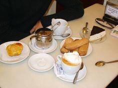 Granja Viader (milk bar) - for a thick chocolate drink!  The oldest in Barcelona, since 1870.