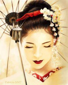 Geisha artwork by perselus