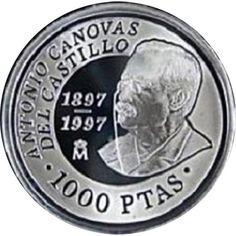 1000 Pesetas 1997 D. Antonio Cánovas del Castillo. Madrid SC.