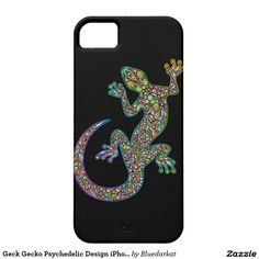 SOLD! #Gecko #Psychedelic #Design #iPhone_Cases - by #BluedarkArt - #Zazzle #Store - Thanks! ☺  $36.90 - Made by Case-Mate Gecko decorative colorful and Psychedelic Art Design http://www.zazzle.com/geck_gecko_psychedelic_design_iphone_5_cases-179898981134410441?CMPN=shareicon&lang=en&social=true