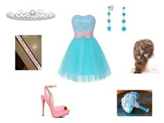 Prom Princess by arianachristina on Polyvore featuring polyvore fashion style ALDO Bling Jewelry clothing Prom dress PromDress