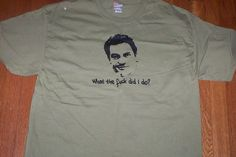 The Wire McNulty  T Shirt Baltimore S M L XL XXL by scruncherson, $20.00