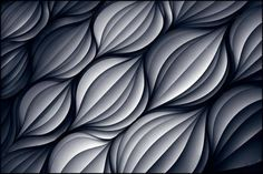organic pattern pleated on paper  Carve This