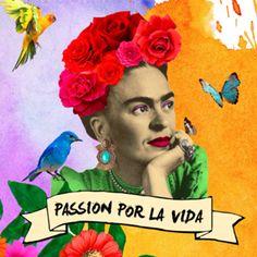 Almofada Passion por la vida do Studio Hoppe por R$55,00