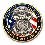 Duluth Police 3D Coin
