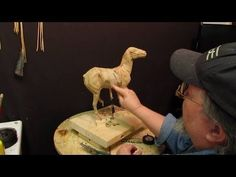 Sculpting with Lemon - War Clouds - I Recycle an Old Clay of a Horse