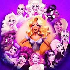This illustration needed an update! 12 queens is still manageable ...but I'm gonna have to think on a better solution when the new Queen…