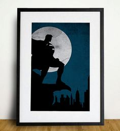 Need this! - Superman Poster A3 Print. $18.00, via Etsy.