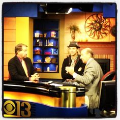 6am tv, if my eyes are closed im sorry! Really nice guys! #keithharkin