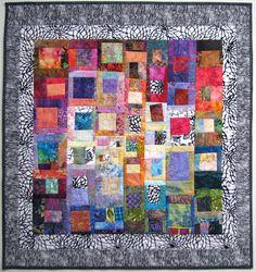 Wanda S. Hanson at Exuberant Color.........use print as texture