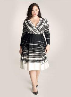 Cadence Dress in Black/Ivory by Igigi WANT!!