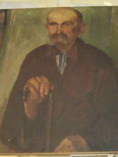 """Pintura : """"retrato viejo"""" o/l. Escuela húngara http://www.ventayrestauraciondemuebles.com/producto.php?ID=18793#contenido"""