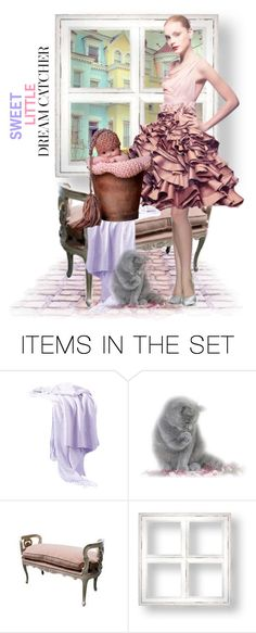 """""""She's my sweet, little Dreamcatcher!"""" by shay-h ❤ liked on Polyvore featuring art, dolls, dollset and dollart"""