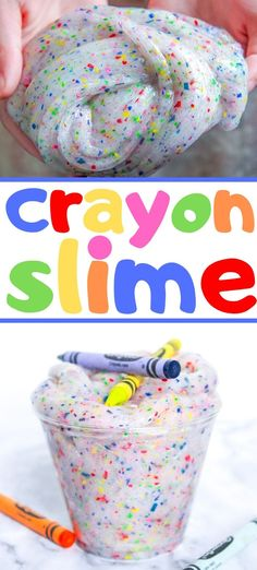 Do It Yourself Solar Electricity For Your House Use Up All Those Broken Crayons In The Bin To Make This Easy And Colorful Homemade Crayon Slime Homemade Crayons, Diy Crayons, Crayon Crafts, Broken Crayons, Melted Crayons, Crayon Art, Crafts With Crayons, Sharpie Crafts, Cute Kids Crafts