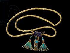 clasp of Princess Sathathor Title: Egyptian National Museum, Cairo, Egypt Location: Cairo egyptian mseum-Clasp of Princess Sathathor-JE 30862 A; gold, lapis lazuli, carnelian, turquoise; 12th Dynasty, Middle Kingdom; Dashur.