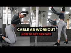 intense cable only ab workout 10 Min Ab Workout, Intense Ab Workout, 6 Pack Abs Workout, Oblique Workout, Abs Workout Video, Workout For Flat Stomach, Abs Workout Routines, Abs Workout For Women, Ab Workout At Home