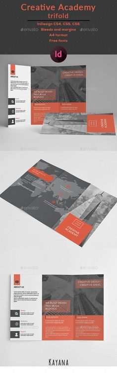 Trifold Creative Brochure Template InDesign INDD