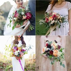 Rich Tone Bouquets