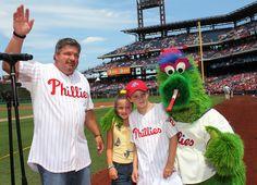 Former Phillie and current ESPN baseball analyst John Kruk on hand during Alumni Weekend August 10-12th
