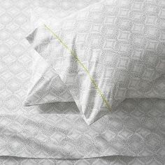Set of 2 Kaleidoscope Standard Pillowcases in Sheet Sets | Crate and Barrel