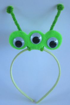 Alien Headband by PlaytimeProps on Etsy, $7.00
