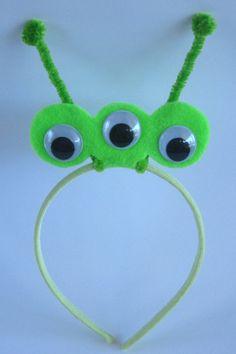 Alien Headband by PlaytimeProps on Etsy, $7.00