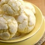 Lemon Burst Cookies From Scratch Recipe Card