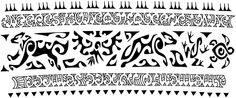 Tribal American Indian Arm Band Tattoo | Tattoo Tabatha