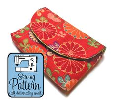 Box Wallet & Pyramid Pouch - Michelle Patterns