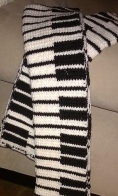 crochet scarf by Aliviaexpress on Etsy
