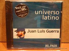 JUAN LUIS GUERRA. UNIVERSO LATINO 1. CD - MUXXIC - 2001 - 10 TEMAS.PRECINTADO.