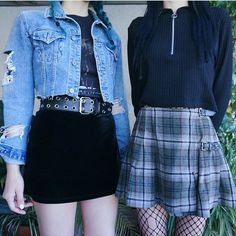 41 ideas fashion outfits grunge casual for 2019 Indie Outfits, Grunge Style Outfits, Outfits Casual, Style Grunge, Cool Outfits, Grunge Fashion Soft, Skirt Outfits, Alternative Mode, Alternative Outfits