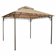 Meijer Freemont 10 x 10 Finial Gazebo Replacement Canopy | Projects to Try | Pinterest | Gazebo replacement canopy Replacement canopy and Canopy  sc 1 st  Pinterest & Meijer Freemont 10 x 10 Finial Gazebo Replacement Canopy ...