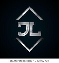 JL Monogram, Metal Logo, Silver Logo Logo Archive, Karting, Silver Logo, Adobe, Company Logo, Monogram, Logos, Metal, Youtube