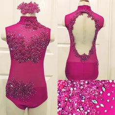 A new favorite!! Beautiful contemporary solo custom costume for Hayley of Renner Dance!! In love with this one!!