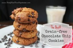 grain-free chocolate chip cookies. Substitute Swerve for coconut sugar.