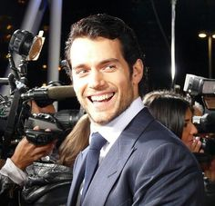Henry Cavill. Pantydropping smile! I feel an obsession coming on!!!