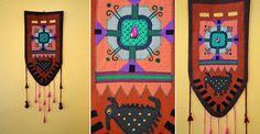SZOKA DESIGN, wall decor, textile
