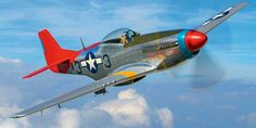 P-51 Tall In The Saddle.