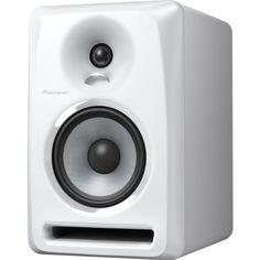 Pioneer Pro DJ S-DJ50X-W 5-Inch Active Reference Speaker, White