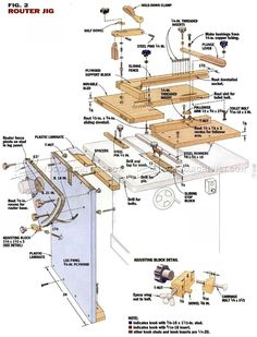DIY Mortise and Tenon Jig - Joinery