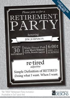 20th anniversary invitations printable black gold 20th retirement party invitation stopboris Gallery