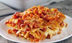 Kürbis-Tomaten-Lasagne Rezept: Lasagne aus Nudeln, Kürbis und Tomaten - Eins von 5.000 leckeren, gelingsicheren Rezepten von Dr. Oetker!