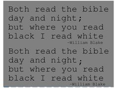 William Blake Quote from Amy Milam's Inexpert Collection