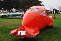 Airomobile Sedan C built by Carl T Doman at the request of Paul M. Lewis in 1937.