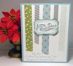 Coffee Pot Stamping Cafe: Sunday Christmas Card Challenge #26