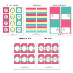 free mothers day party printables